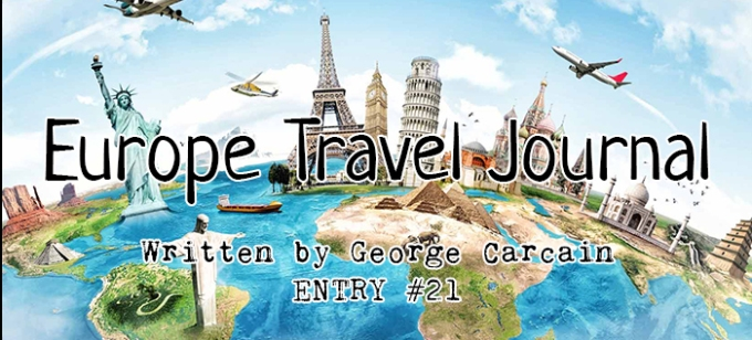 Europe Travel Journal TWENTYONE